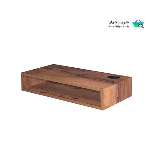 ۲۰ مدل میز تلویزیون دیواری مدرن، ساده و شیک [چوبی، سفید، ام دی اف]