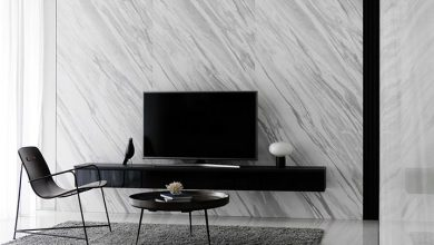 میز تلویزیون دیواری مدرن