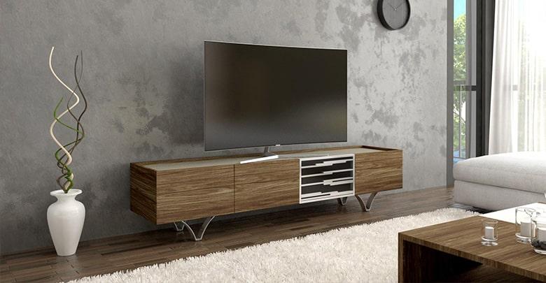 مدل های جدید میز تلویزیون چوبی