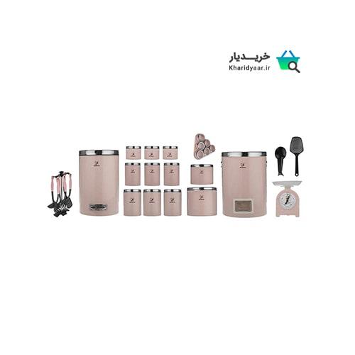 ۴۵ مدل سرویس آشپزخانه شیک [استیل، شیشه ای، پلاستیکی] + خرید